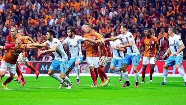 Galatasaray ve Trabzonspor arasında takas