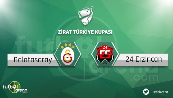 Galatasaray - Erzincanspor maçı saat kaçta, hangi kanalda?