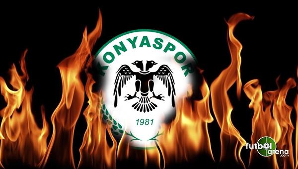 Galatasaray karşısında Konyaspor tribünlerinden penaltı isyanı