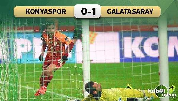 Konyaspor 0-1 Galatasaray maç özeti ve golleri