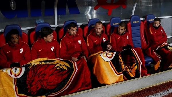 Galatasaray takımını hayrete düşüren olay