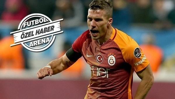 Galatasaray'dan Podolski ve Japonya açıklaması