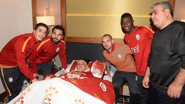 Galatasaray'a Elazığ'da sürpriz ziyaretçi