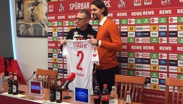 Galatasaray'a yazıldı, Köln'e transfer oldu