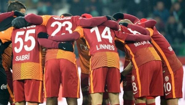 Galatasaray'ın Elazığspor kadrosu