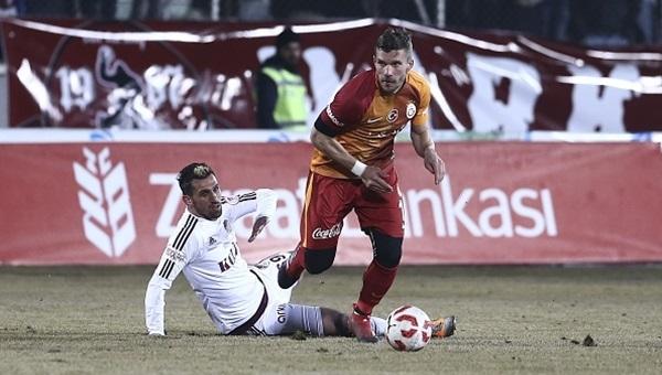 Galatasaray'ın en skoreri Lukas Podolski