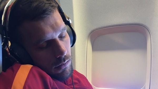 Galatasaray'ın fotoğrafçısından Podolski'ye kontra