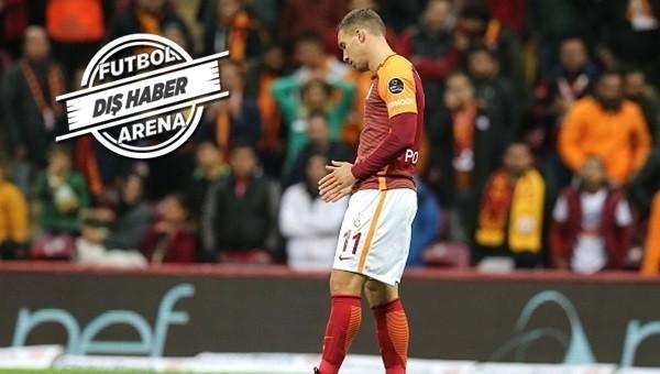 Galatasaraylı Podolski'ye Çin'den son dakika transfer haberi
