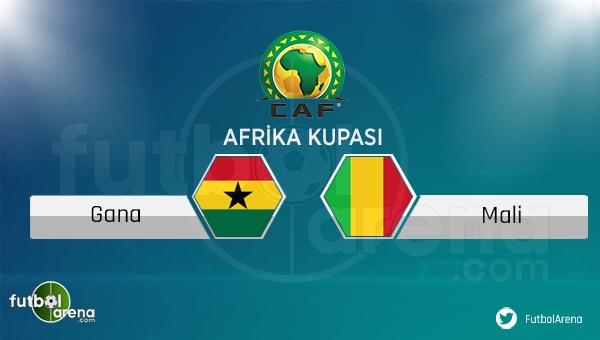 Gana - Mali maçı saat kaçta, hangi kanalda?