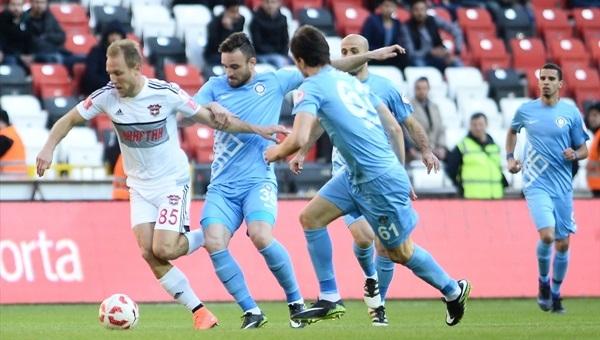 Gaziantepspor 2 - 0 Osmanlıspor maçı özeti ve golleri
