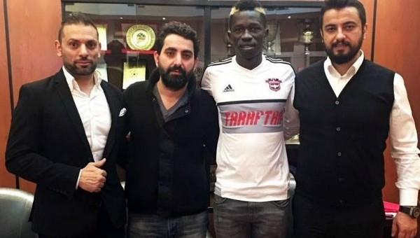 Gaziantepspor, Thiam Khaly ile imzaladı