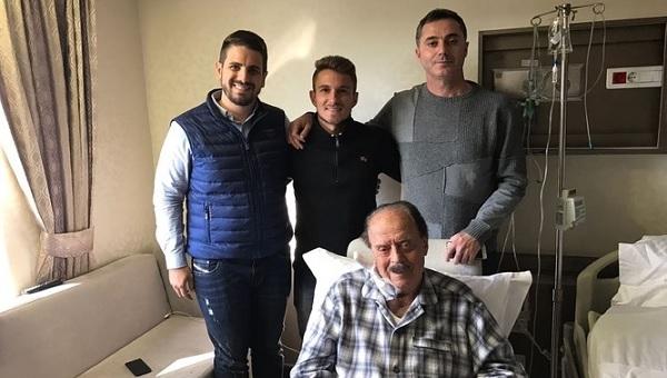 Gençlerbirliğİ Başkanı İlhan Cavcav hastanede transfer yaptı