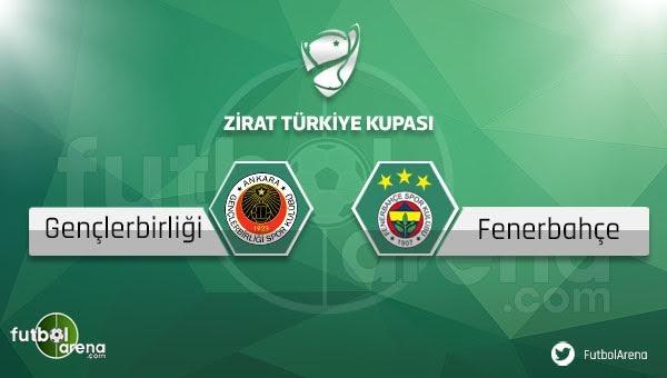 Gençlerbirliği - Fenerbahçe maçı saat kaçta, hangi kanalda?