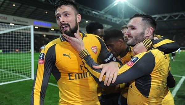 Preston North End - Arsenal maçı özeti ve golleri
