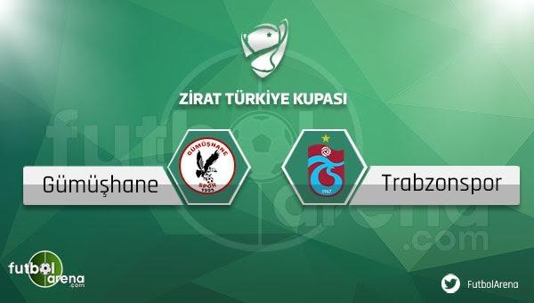Gümüşhanespor - Trabzonspor maçı saat kaçta, hangi kanalda?