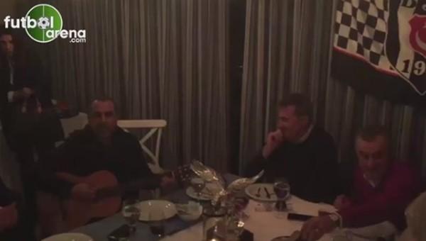 Haluk Levent balık lokantasında Fikret Orman'a şarkı söyledi