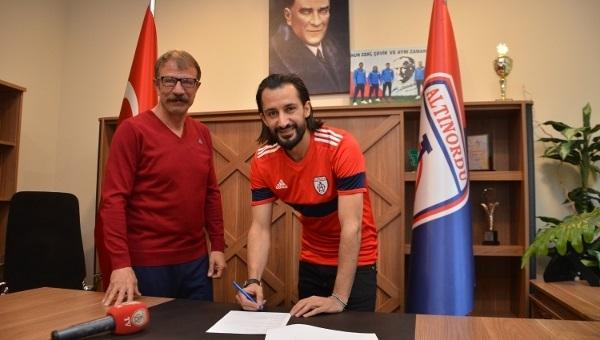Hasan Kabze, Altınordu ile imzaladı