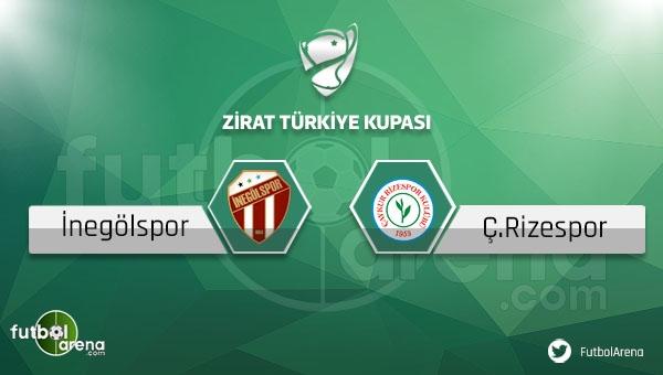 İnegölspor - Çaykur Rizespor maçı saat kaçta, hangi kanalda?