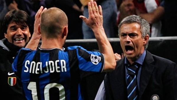 Jose Mourinho en iyiler arasında Sneijder'i de gösterdi