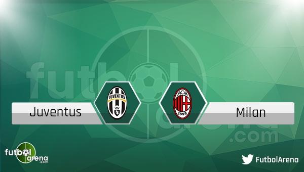 Juventus - Milan maçı saat kaçta, hangi kanalda?