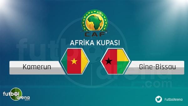 Kamerun - Gine Bissau maçı saat kaçta, hangi kanalda?