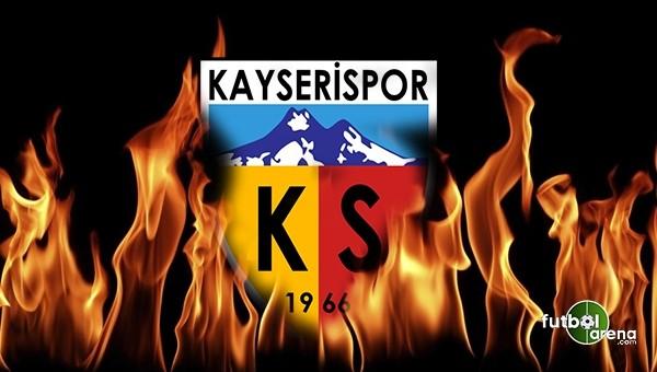 Kayserispor'da flaş ayrılık! Sözleşmesini feshetti
