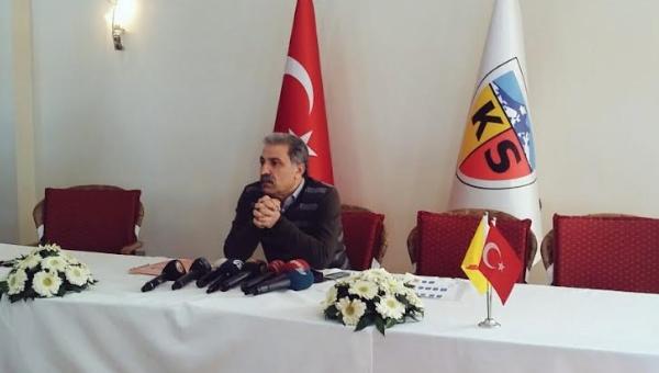 Kayserispor'da görev dağılımı yapıldı