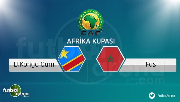 Kongo - Fas maçı saat kaçta, hangi kanalda?