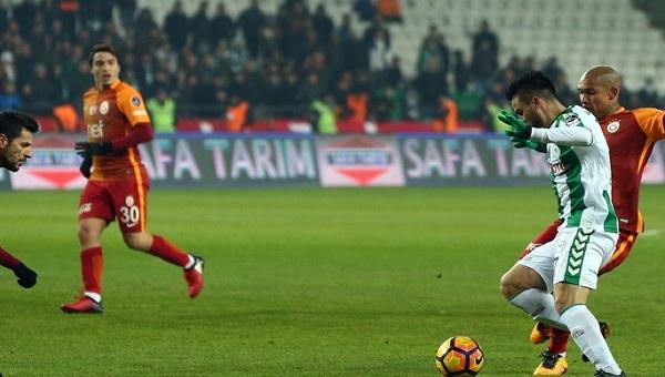 Konyaspor, Galatasaray'a fark attı
