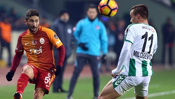 Konyaspor - Galatasaray maçı koşu mesafeleri