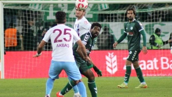 Konyaspor, kupada Trabzonspor karşısında