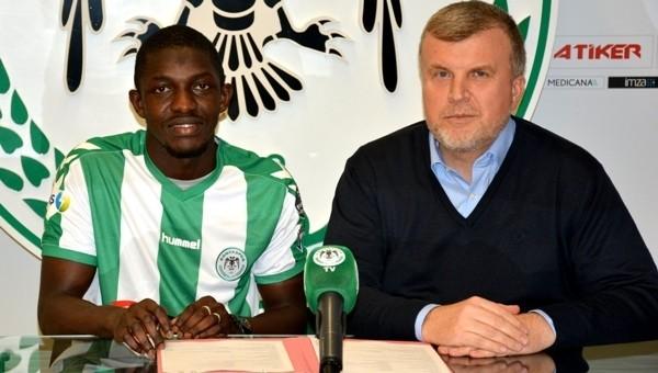 Konyaspor,yeni transferi Moryke Fofana ile sözleşme imzaladı