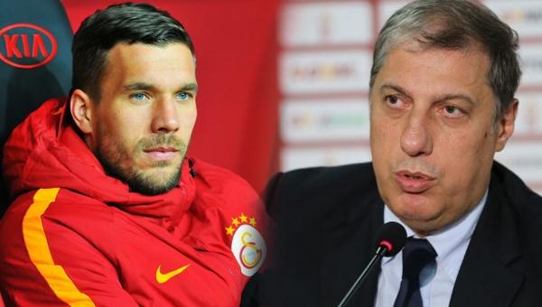 Lukas Podolski, Levent Nazifoğlu'nu yalanladı