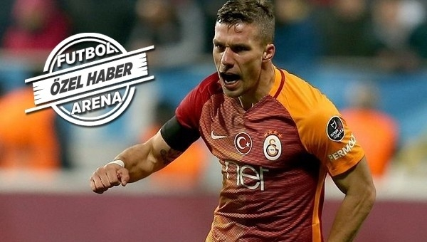 Lukas Podolski transfer kararını verdi