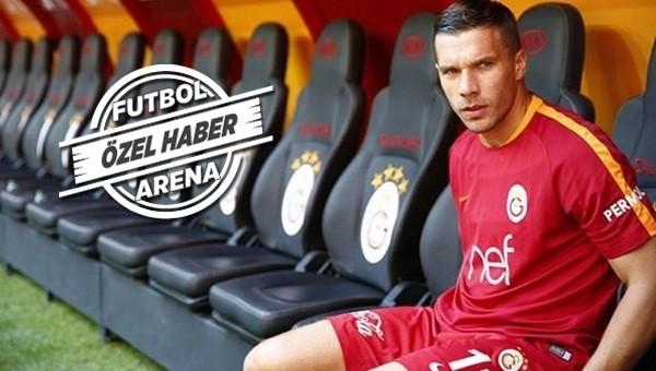 Lukas Podolski'den yönetime şok tepki