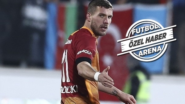 Lukas Podolski'nin fiyatı yükseldi