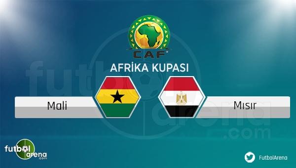 Mali - Mısır maçı saat kaçta, hangi kanalda?