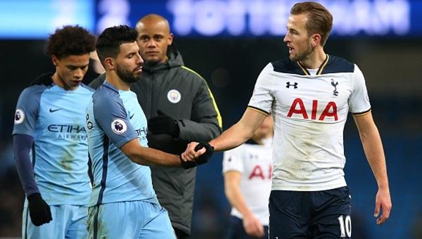 Manchester City ile Tottenham yenişemedi: 2-2