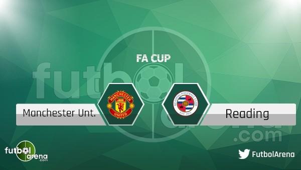 Manchester United - Reading maçı saat kaçta, hangi kanalda?