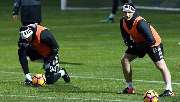 Matej Mitrovic Beşiktaş ile ilk antrenmanına çıktı