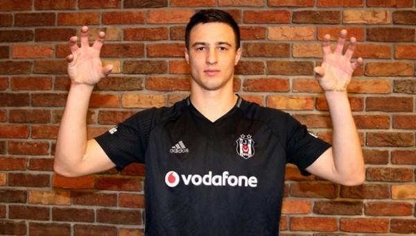 Matej Mitrovic: 'Türkiye'nin en büyük kulübü Beşiktaş'