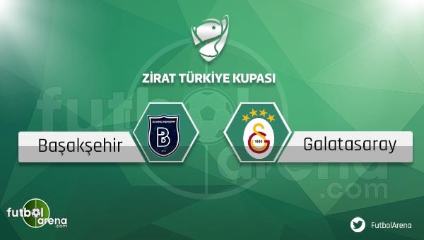 Medipol Başakşehir - Galatasaray Türkiye Kupası maçı ne zaman, saat kaçta?