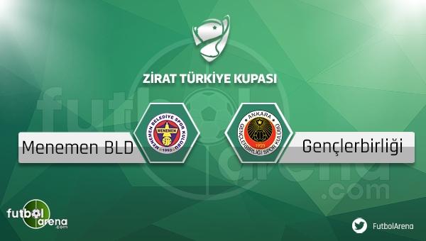Menemen Belediyespor - Gençlerbirliği maçı saat kaçta, hangi kanalda?