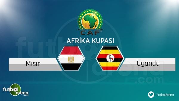 Mısır - Uganda maçı saat kaçta, hangi kanalda?