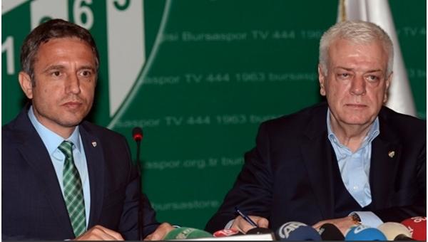 Mutlu Topçu ''Farklı bir Bursaspor izleyeceğim''