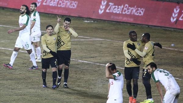 Osmanlıspor 3 - 0 Kırklarelispor maçı özeti ve golleri