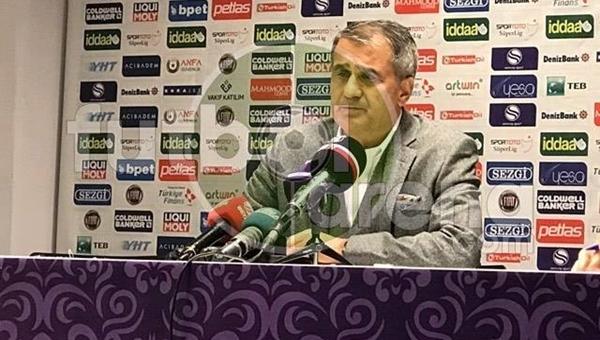 Osmanlıspor maçı sonrası Şenol Güneş'ten transfer açıklaması
