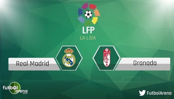 Real Madrid - Granada maçı saat kaçta, hangi kanalda?