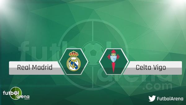 Real Madrid - Celta Vigo maçı saat kaçta, hangi kanalda?