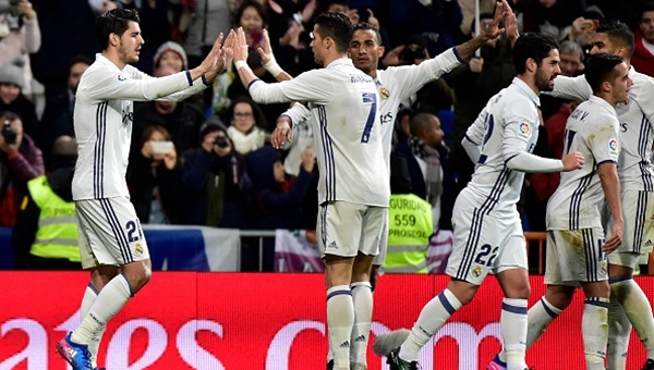 Real Madrid fırsatı kaçırmadı: 3 - 0